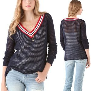 4/$25 We the Free Red, White and Blue Sweater XS